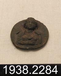 Bronze Bust Medallion
