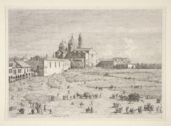 S. Giustina in Prà della Valle, from the series Vedute (Views)