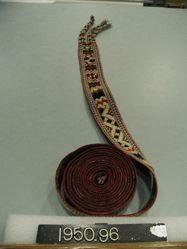 Belt- tablet woven