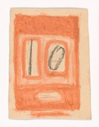 James Castle, Untitled [10 flashcard] (recto and verso)