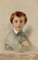 Portrait of Philippe-Grégoire Delaroche, the Artist's Younger Son