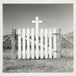 The cemetery gate at Trujillo, Colorado