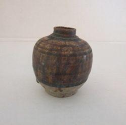 Small spherical jar