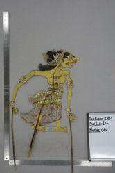 Shadow Puppet (Wayang Kulit) of Surpa Kanaka, from the set Kyai Drajat