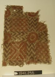 Fragment of Plain Cloth, painted