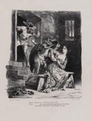 Faust dans la prison de Marguerite (Faust in Marguerite's Prison), from Johann Wolfgang von Goethe's Faust