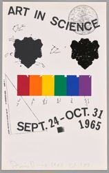 Art in Science, Sept. 24–Oct. 31, 1965