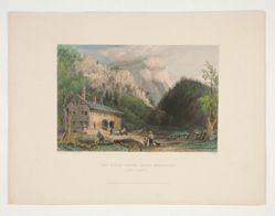 The Notch House, White Mountains, New Hampshire, illustration for Nathaniel Parker Willis's book American Scenery