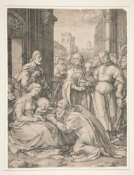 The Adoration of the Magi, from the series The Birth and Early Life of Christ