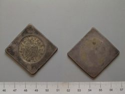 50 Stuivers (Siege Coinage) of the United Netherlands from Groningen and Ommeland