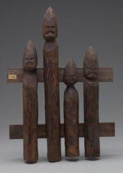 Wood stick figures