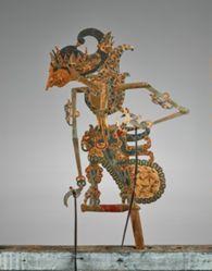 Puppet (Wayang Klitik) of Arjuna Sasrabau