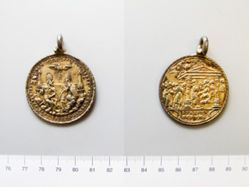 Unknown Religious Medal of Holy Trinity