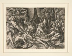 The Robbers Attacking the Travelers, from the series The Parable of the Good Samaritan