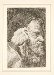 Untitled (Head of a Bearded Man)