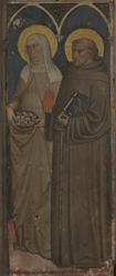 Saint Elizabeth of Hungary and Saint Anthony of Padua