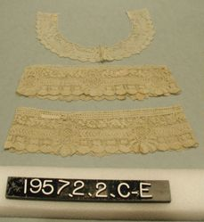 Collar and Pair of Cuffs