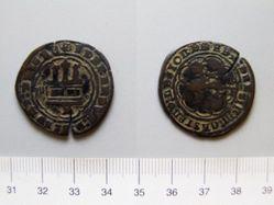 4 Meravedis of Ferdinand V, King of Spain; Isabella I, Queen of Spain from Burgos