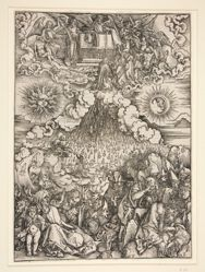 The Opening of the Fifth and Sixth Seals, from the series The Apocalypse