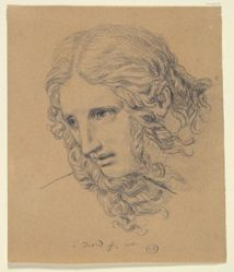 Head of a Young Woman (Terror)