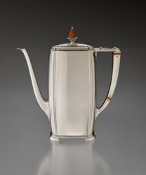 "Coffeepot, ""Rhythm"" Pattern"