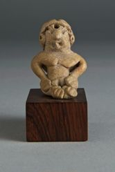 Seated figurine