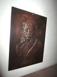 Portrait relief of Otto von Bismarck