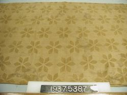 Length of block printed cotton cloth