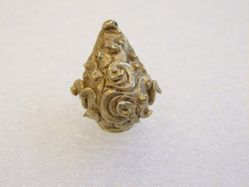 Ear Ornament with Swirls