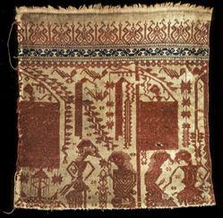 Fragment of a Ritual Weaving (Tampan)
