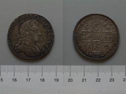 Silver Halfcrown of George I