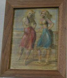 Sketch of Two Women