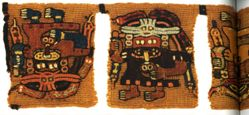 Tab Border from a Mantle or Ritual Cloth