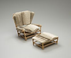 Reading Chair with Ottoman Vol XXXIII