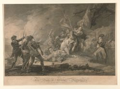 Death of General Montgomery at the Attack at Quebec