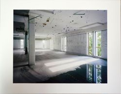 Interior of Building W1, Polaroid, Waltham, Massachusetts, from the portfolio: The Disappearance of Darkness