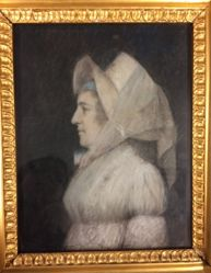 Pastel of unidentified lady