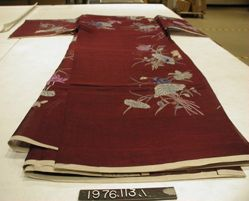 Unsewn Ceremonial or Birthday Robe for the Wife of an Official or Nobleman