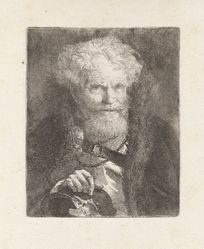 Old Man with a Helmet, from the Raccolta di Teste (Collection of Heads)