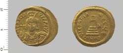 Solidus of Heraclius, Emperor of the Byzantine Empire from Constantinople
