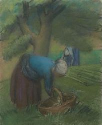 Deux paysannes au verger (Two Peasants in the Orchard)