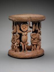 Stool Supported by Human Figures