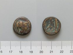 Uncertain denomination of Antigonus Gonatas from Macedonia