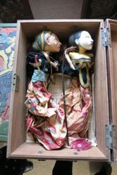 Box for Rod Puppets (Wayang Golek)