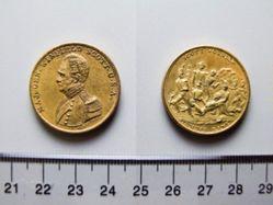 Bronze Medal of Winfield Scott