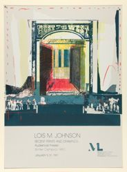 Lois M. Johnson, Recent Prints and Drawings, Audience Frieze/Winter Olympics 1980, January 5–31, 1981