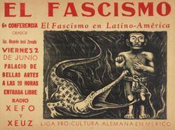 El fascismo: 6a conferencia, El fascismo en Latino-América (Fascism: 6th Lecture, Fascism in Latin America)