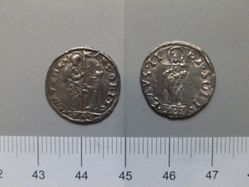 2 Soldo coin of Andrea Gritti from Venice
