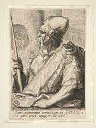 "Gad, from ""The Twelve Sons of Jacob"", set of 12 prints after van Mander"
