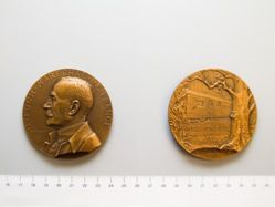 Medal of Marshal F. Foch and the Armistice from France